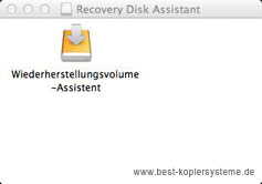 Mac OSX Lion Recovery Disk Assistent